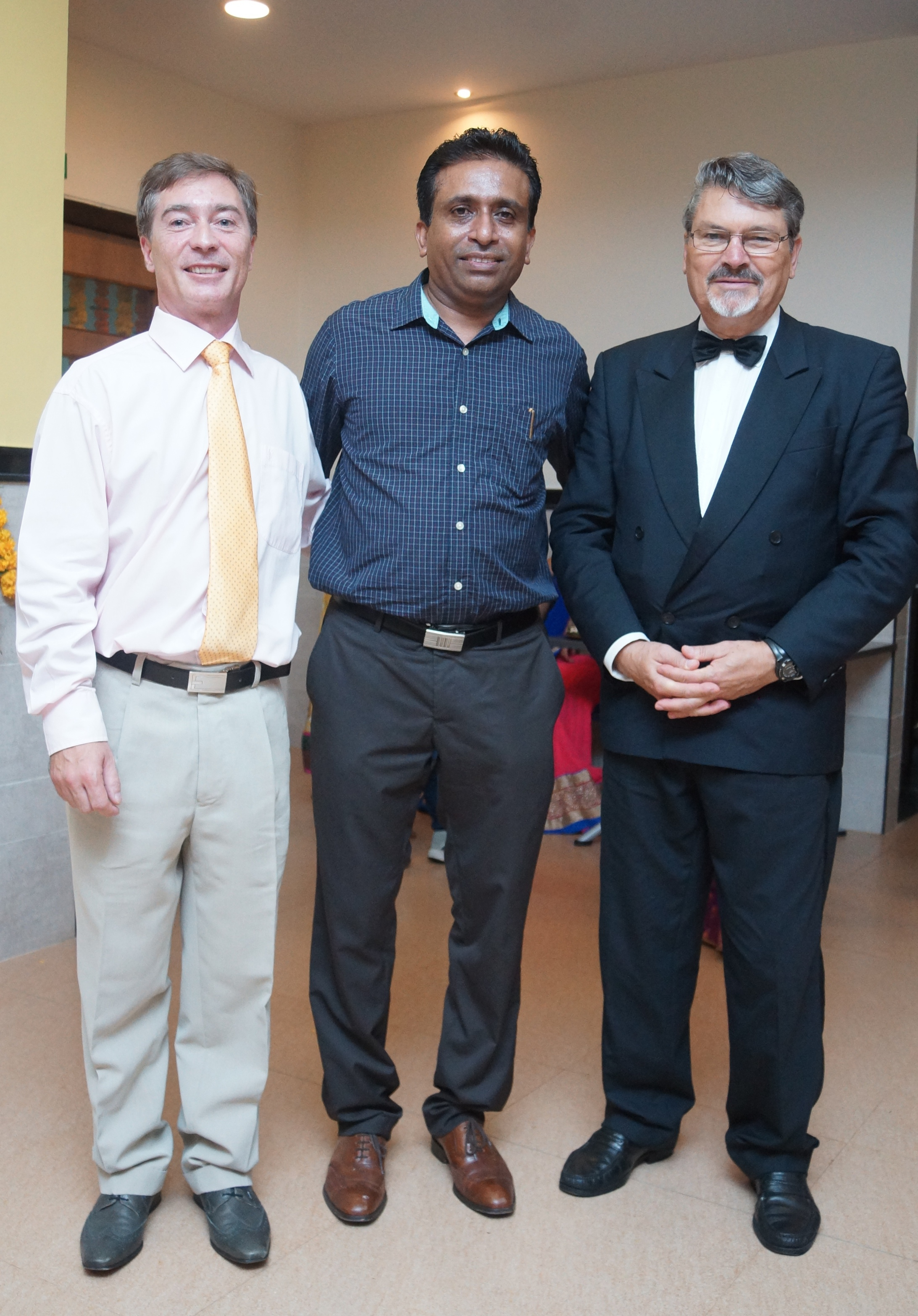 V.M Salgaocar Institute of International Hospitality Education hosts international faculty members Sebastien Semenzi and Georges Ortiz